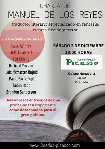 Eventos diciembre 2016 libreras picasso - Libreria picaso granada ...
