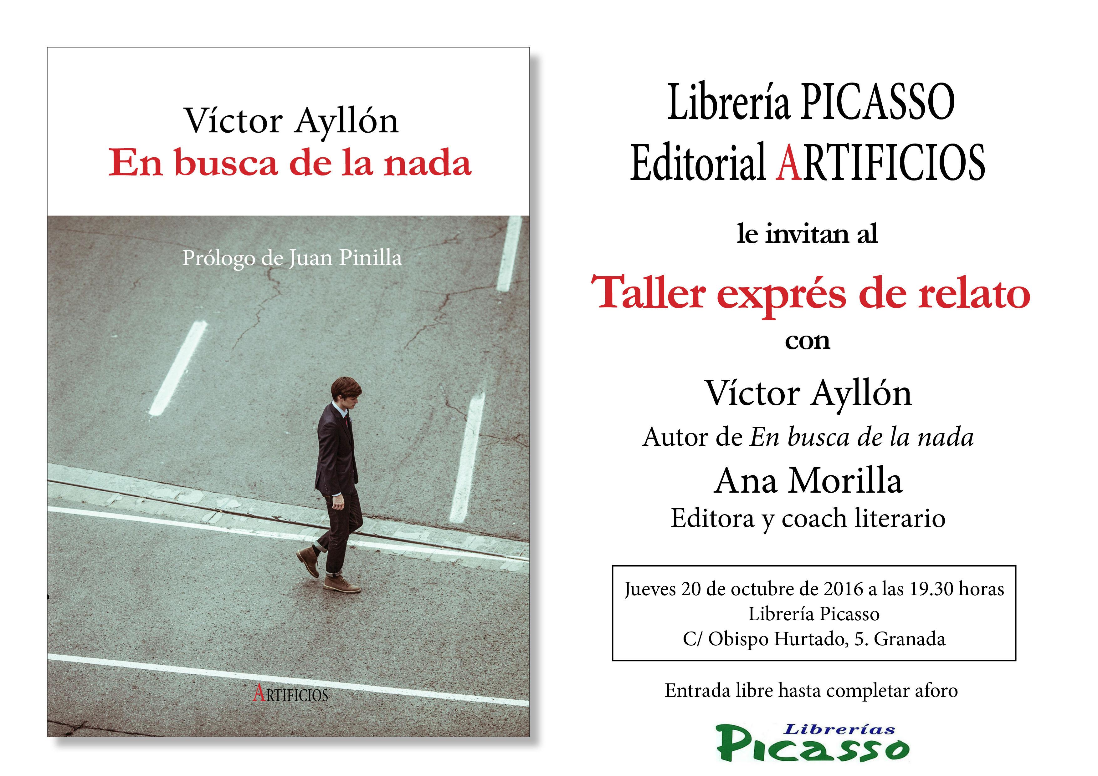 Eventos octubre 2016 libreras picasso - Libreria picaso granada ...